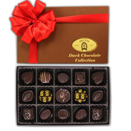 Dark Chocolate Collection- 15 Pieces