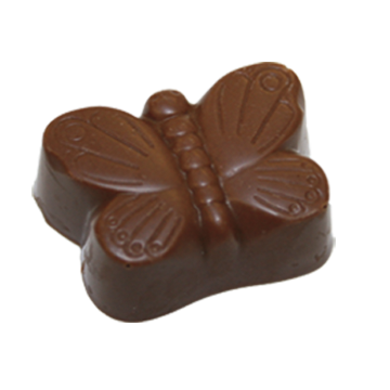 Milk Chocolate Shell Filled with Smooth Milk Chocolate Ganache.