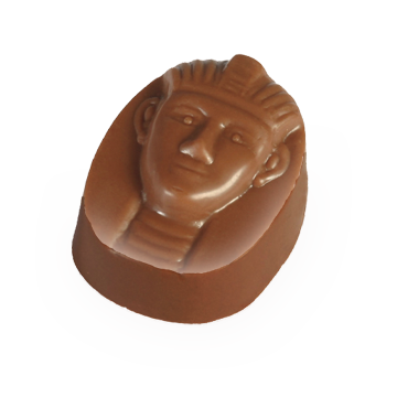 Dark Chocolate Shell filled with In-House Roasted & Prepared Peanut Praline (Peanut Paste)