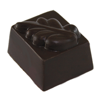58% Dark Chocolate Shell Filled with 68% Dark Chocolate Ganache and Very Fine Crushed In-House Roasted Hazelnuts.